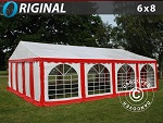 carpas venta red white