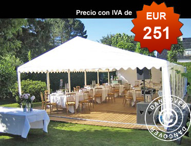 Dancover carpas materiales de construcci n para la for Carpas de jardin baratas